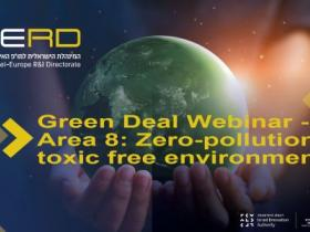 Green Deal Webinar -Area 8: Zero-pollution, toxic free environment